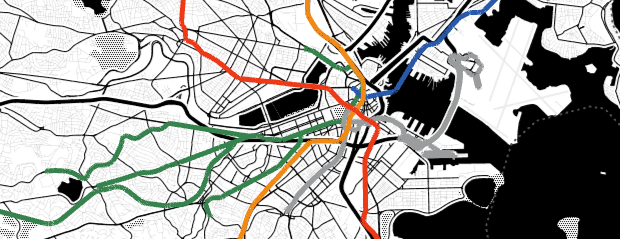 Marker & Data: MBTA Lines